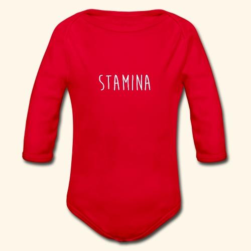 STAMINA - Body Bébé bio manches longues