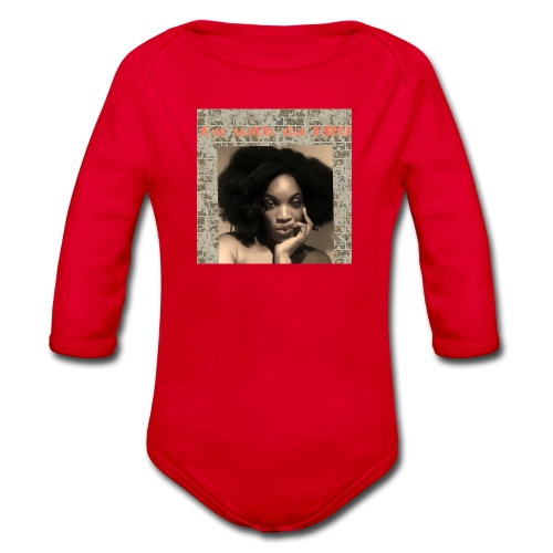 Afro lover - Organic Longsleeve Baby Bodysuit