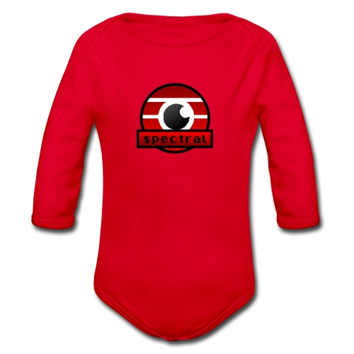 Spectral gaming eSports Logo - Baby bio-rompertje met lange mouwen