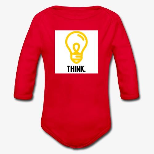 THINK - Body ecologico per neonato a manica lunga