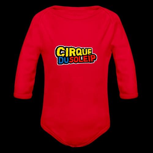 Cirque Du Soleip Letters - Baby bio-rompertje met lange mouwen