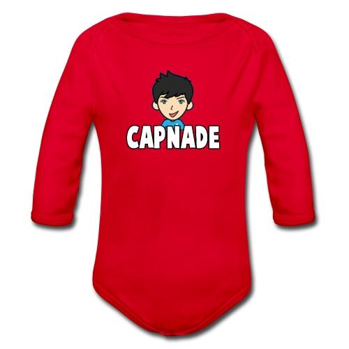 Basic Capnade's Products - Organic Longsleeve Baby Bodysuit