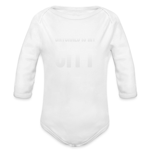 Unturned is my city - Organic Longsleeve Baby Bodysuit
