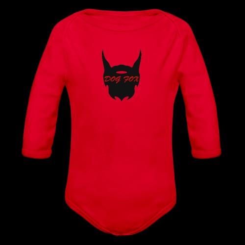 Dogfox Devil - Baby Bio-Langarm-Body
