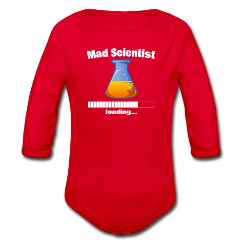 Mad Scientist loading... Baby Motiv - Baby Bio-Langarm-Body