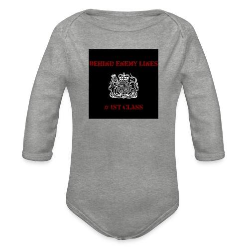 Front - Organic Longsleeve Baby Bodysuit