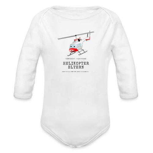 Helikoptereltern - Baby Bio-Langarm-Body