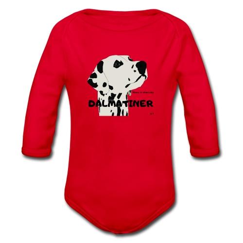 Home is where my Dalmatiner is ! - Baby Bio-Langarm-Body