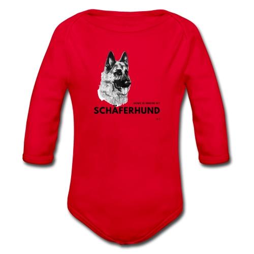 Home is where my Schäferhund is ! - Baby Bio-Langarm-Body