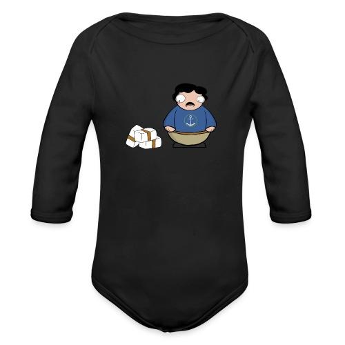 Pablito. - Body orgánico de manga larga para bebé