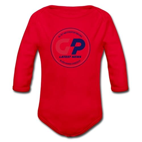 retro - Organic Longsleeve Baby Bodysuit