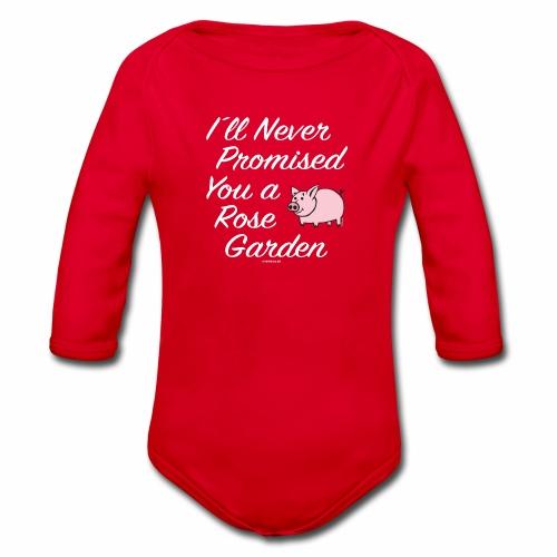 Hauskat Possu paidat, tekstiilit- ja lahjatuotteet - Vauvan pitkähihainen luomu-body