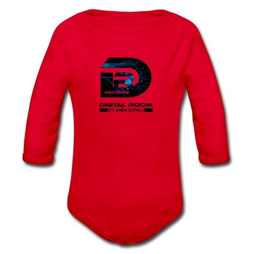 Digital Room Records Official Logo effect - Organic Longsleeve Baby Bodysuit