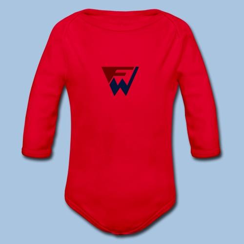 FW Logo - Organic Longsleeve Baby Bodysuit