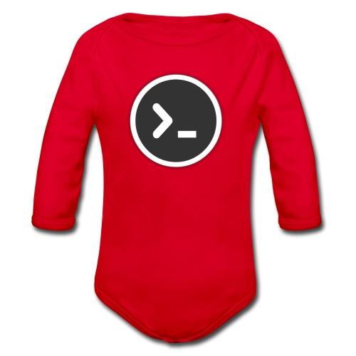 Terminal/Shell - Organic Longsleeve Baby Bodysuit