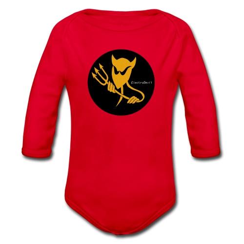 ElectroDevil T Shirt - Organic Longsleeve Baby Bodysuit