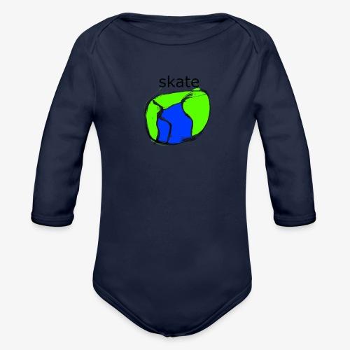 aiga cashier - Langærmet babybody, økologisk bomuld