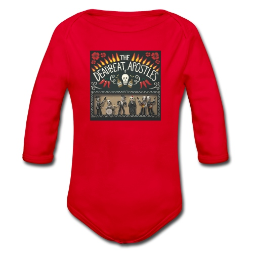 The Deadbeat Apostles - Organic Longsleeve Baby Bodysuit