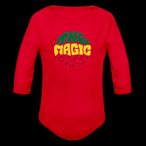 THE MAGIC BUS - Organic Longsleeve Baby Bodysuit
