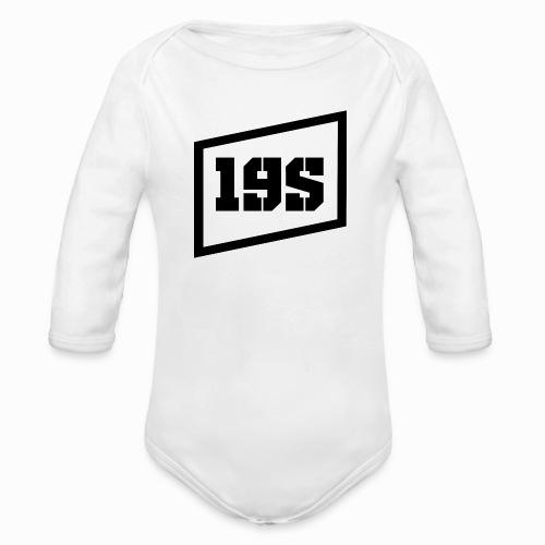 19series Logo - Baby Bio-Langarm-Body