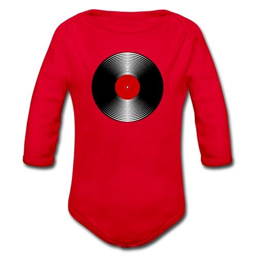 LP Vinyl - Organic Longsleeve Baby Bodysuit