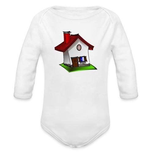 Haus - Baby Bio-Langarm-Body