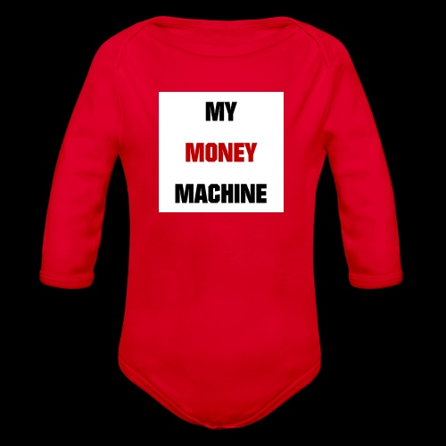 MY MONEY MACHINE - Baby Bio-Langarm-Body