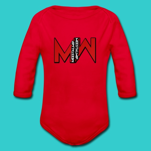 MeestalMip Shirt met lange mouwen - Kids & Babies - Baby bio-rompertje met lange mouwen