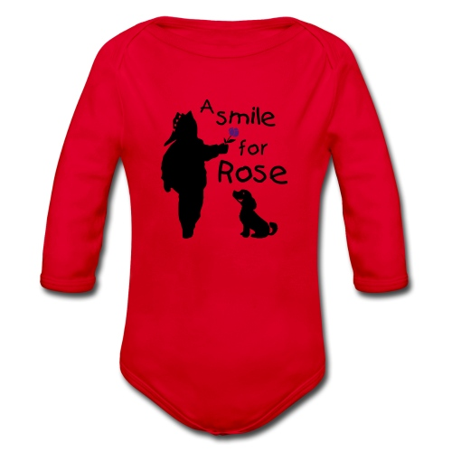A Smile for Rose - Body ecologico per neonato a manica lunga