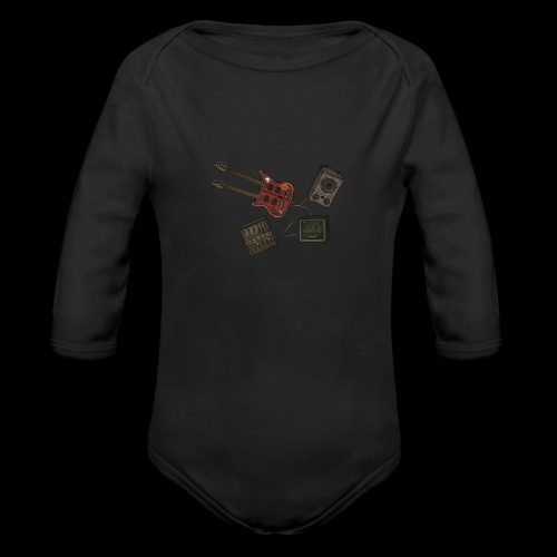 Music - Organic Longsleeve Baby Bodysuit