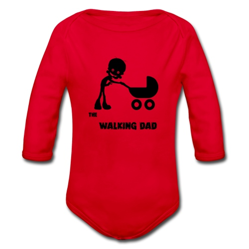 WALKING DAD - Body Bébé bio manches longues