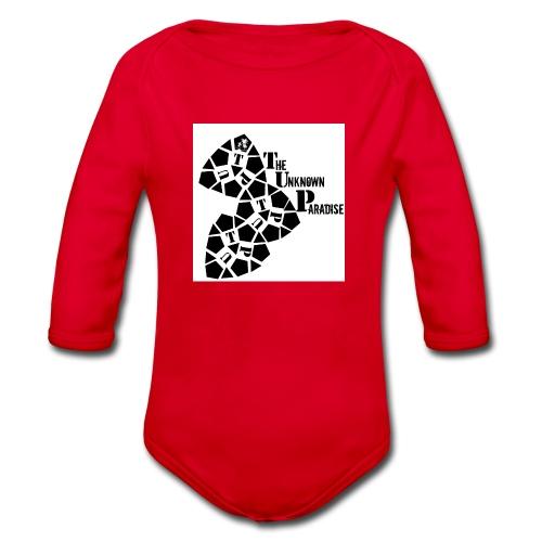 Camiseta Logo Standard The Unknown Paradise - Body orgánico de manga larga para bebé
