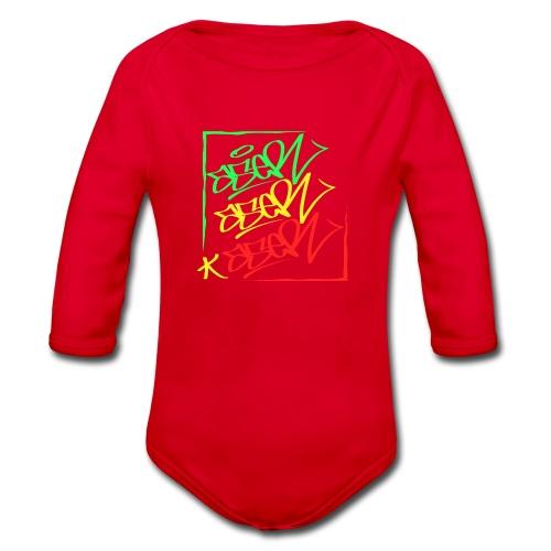 ASER reggae-style - Baby Bio-Langarm-Body