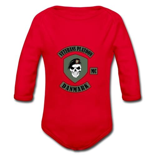 Veterans Platoon - Langærmet babybody, økologisk bomuld