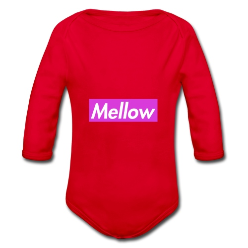 Mellow Purple - Organic Longsleeve Baby Bodysuit