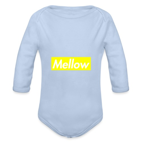 mellow Yellow - Organic Longsleeve Baby Bodysuit