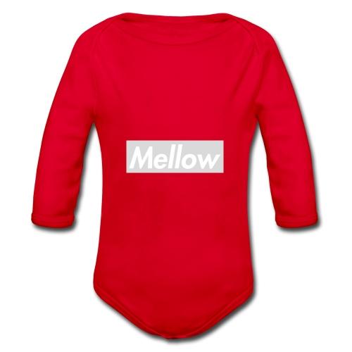 Mellow White - Organic Longsleeve Baby Bodysuit