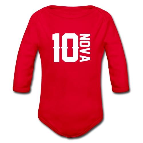 Nova 10 Jumper - Organic Longsleeve Baby Bodysuit