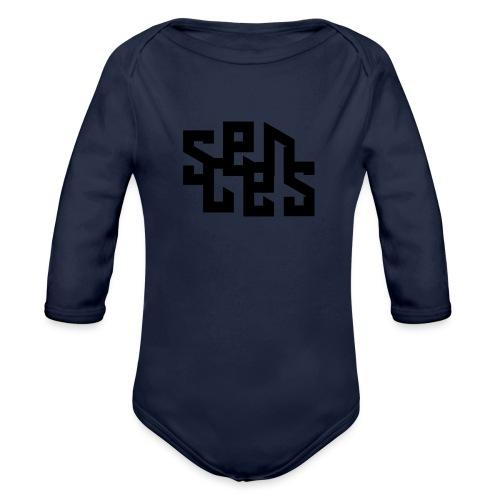 Sceens Baseball Shirt Kids - Baby bio-rompertje met lange mouwen