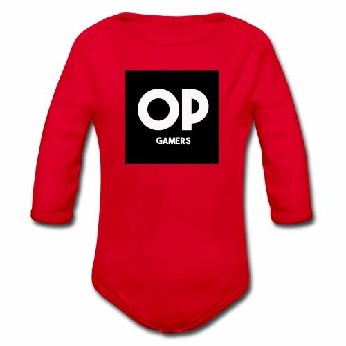 Opgamers - Organic Longsleeve Baby Bodysuit