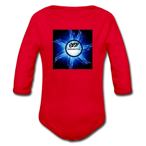 pp - Organic Longsleeve Baby Bodysuit