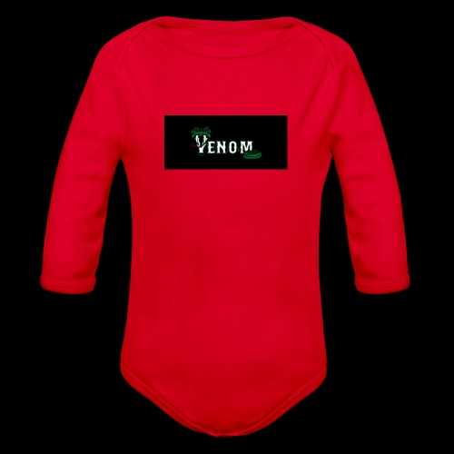 venomeverything - Organic Longsleeve Baby Bodysuit