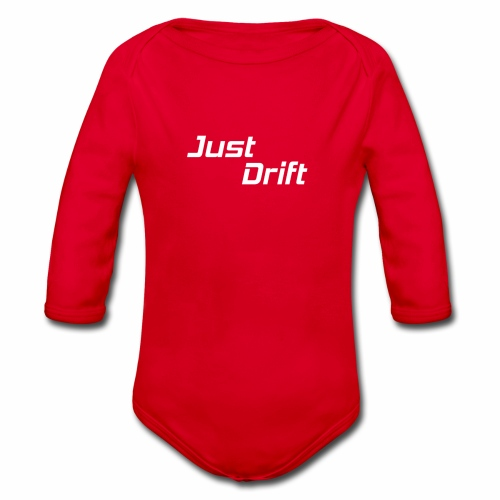 Just Drift Design - Baby bio-rompertje met lange mouwen