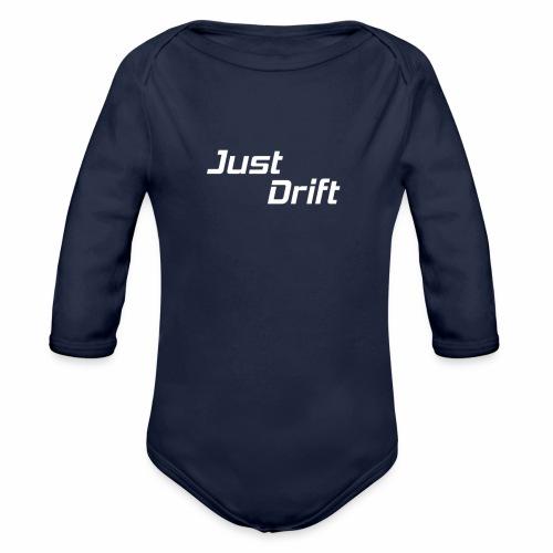 Just Drift Design - Baby bio-rompertje met lange mouwen
