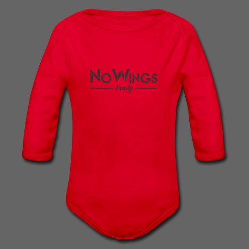 NoWings_Fam - Baby Bio-Langarm-Body