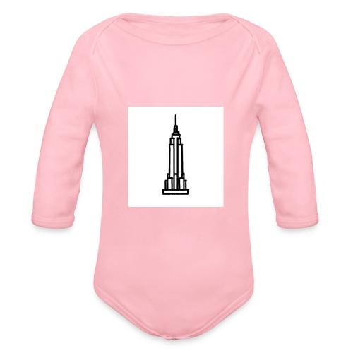 Empire State Building - Body Bébé bio manches longues
