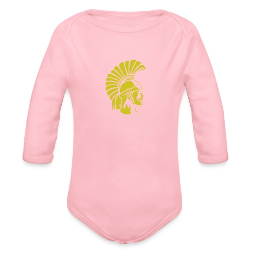 Topeka High School merch - Organic Longsleeve Baby Bodysuit