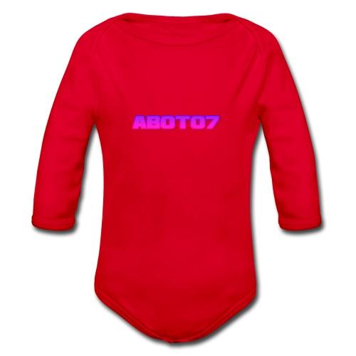 Abot07 - Ekologisk långärmad babybody