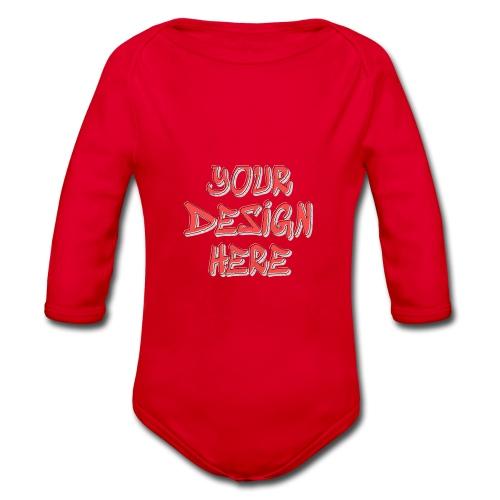 TextFX - Organic Longsleeve Baby Bodysuit