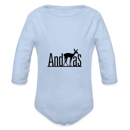 AndREHas - Baby Bio-Langarm-Body